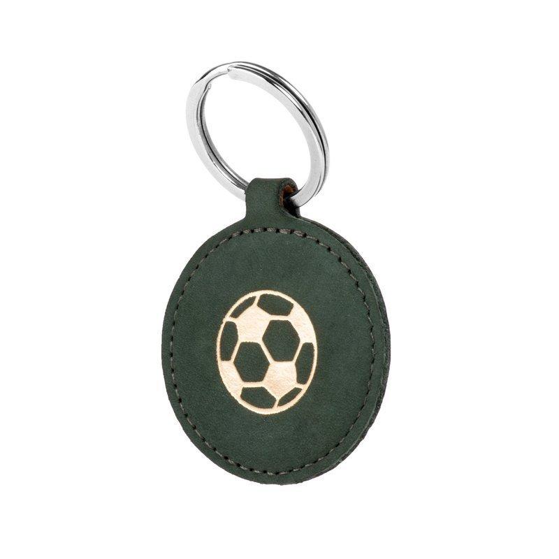 Smart magnet RFID - Nubuck Dark green - Soccer ball