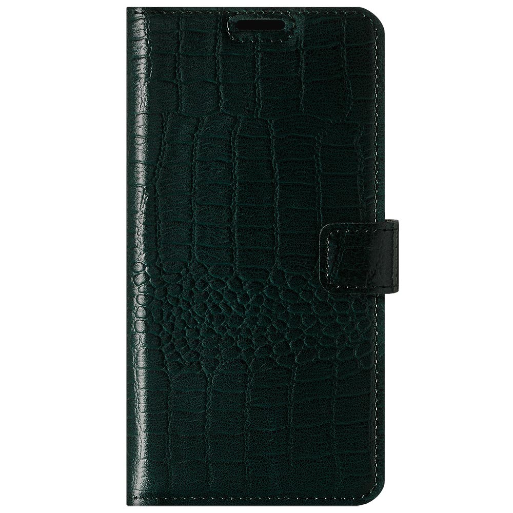 Surazo® Leather Wallet phone case Cayme - Green