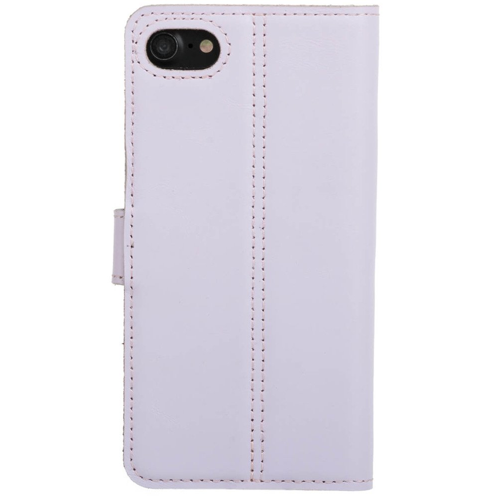 Surazo® Leather Wallet phone case - Pastel Purple - Flowers