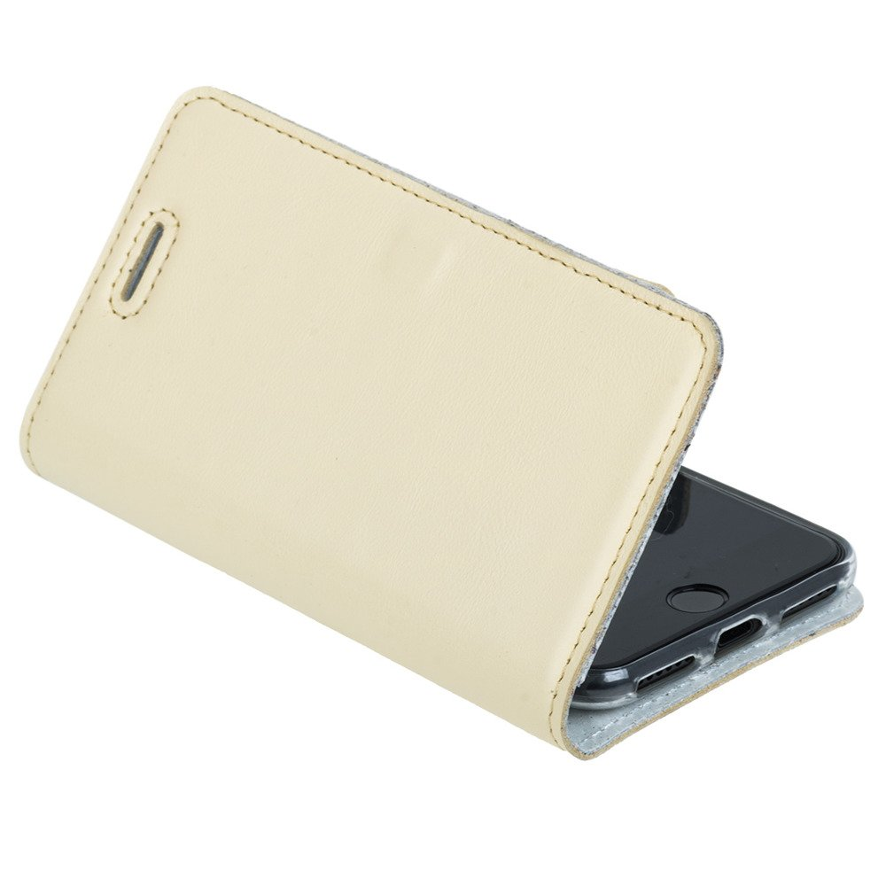 Surazo® Leather Wallet phone case Pastel - Yellow