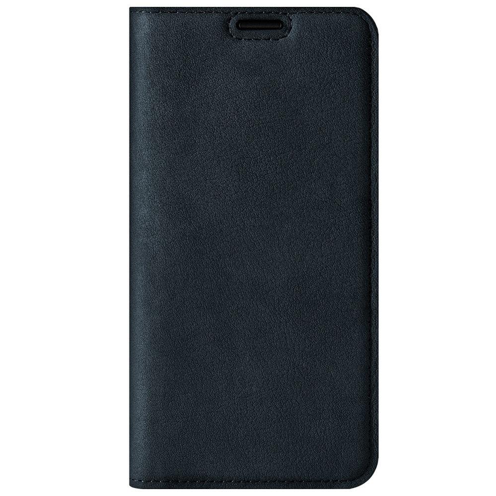 Surazo® Smart Magnet RFID case Nubuck - Navy Blue