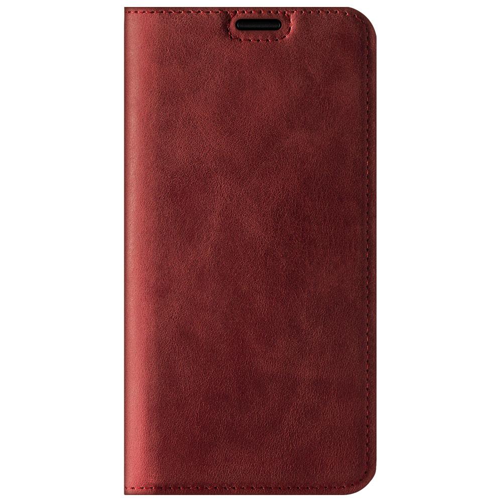 Surazo® Smart Magnet RFID Lederhülle Nubuk - Rot