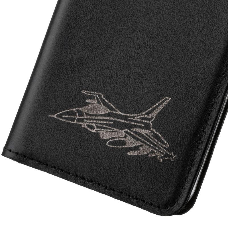 Surazo® Etui Smart Magnet RFID Costa - Czarny - Odrzutowiec