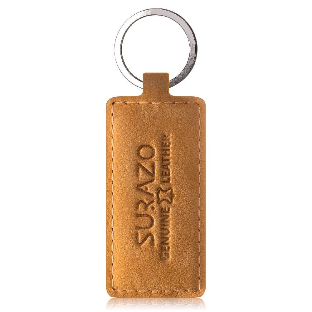 Surazo® Skórzane Etui Wallet case Duo - Czarny i Camel